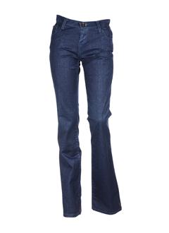 denim studio jeans femme de couleur bleu fonce