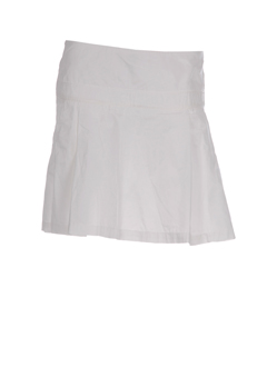 qubha jupes femme de couleur blanc