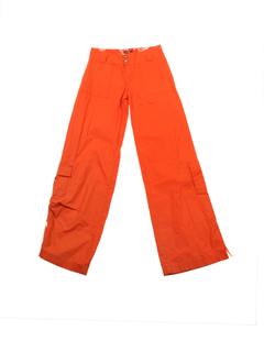 chipie pantalons fille de couleur orange