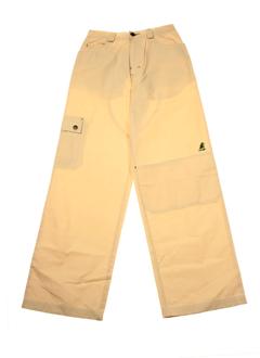 ddp pantalons garçon de couleur sable
