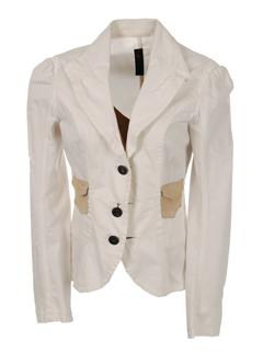 einstein vestes femme de couleur blanc casse