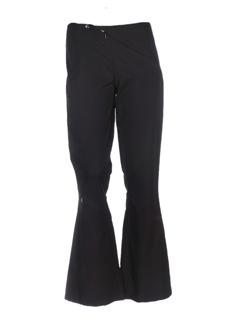 Pantalon casual noir TRAMWEAR pour femme