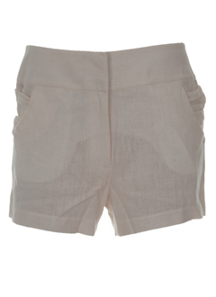 manoush shorts / bermudas femme de couleur ecru