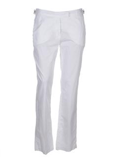 Pantalon casual blanc JOSEPHINE ET C.O pour femme
