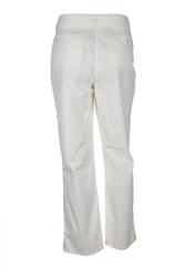 Pantalon casual blanc JOSEPHINE ET C.O pour femme seconde vue