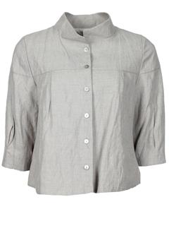 lino factory vestes femme de couleur gris