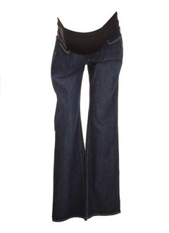 paige maternity jeans femme de couleur bleu fonce