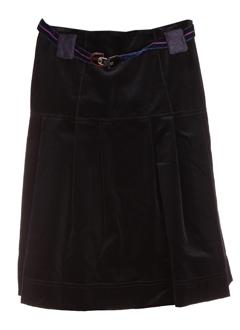 tricot chic jupes femme de couleur bleu fonce