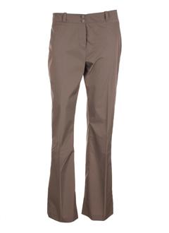 Pantalon casual gris LOLA pour femme