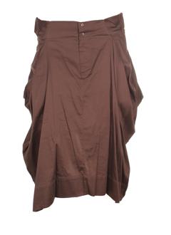 lino factory jupes femme de couleur taupe