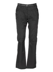 Pantalon casual marron RIVIERES DE LUNE pour femme seconde vue
