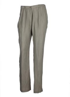 Pantalon casual beige GUY DUBOUIS pour femme