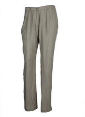 Pantalon casual beige GUY DUBOUIS pour femme seconde vue