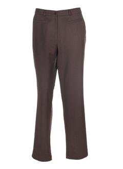 Pantalon chic marron ROSA ROSAM pour femme