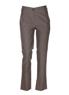 Pantalon chic taupe ROSA ROSAM pour femme