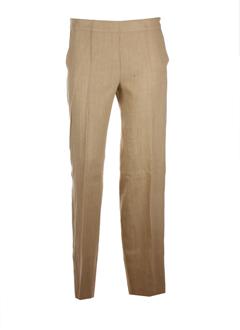 maxmara pantalons femme de couleur sable