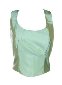 paule vasseur chemises femme de couleur vert amande