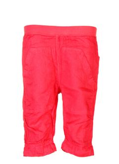 taille 0 pantalons fille de couleur rouge