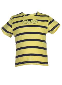 taille 0 t-shirts garçon de couleur jaune