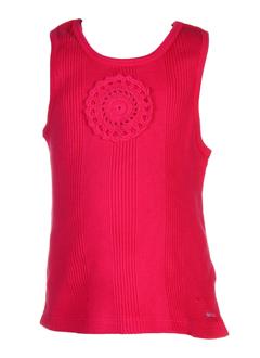 taille 0 t-shirts fille de couleur rose