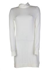 Robe mi-longue ecru SYSTEM AN L.C.PROJECT pour femme seconde vue