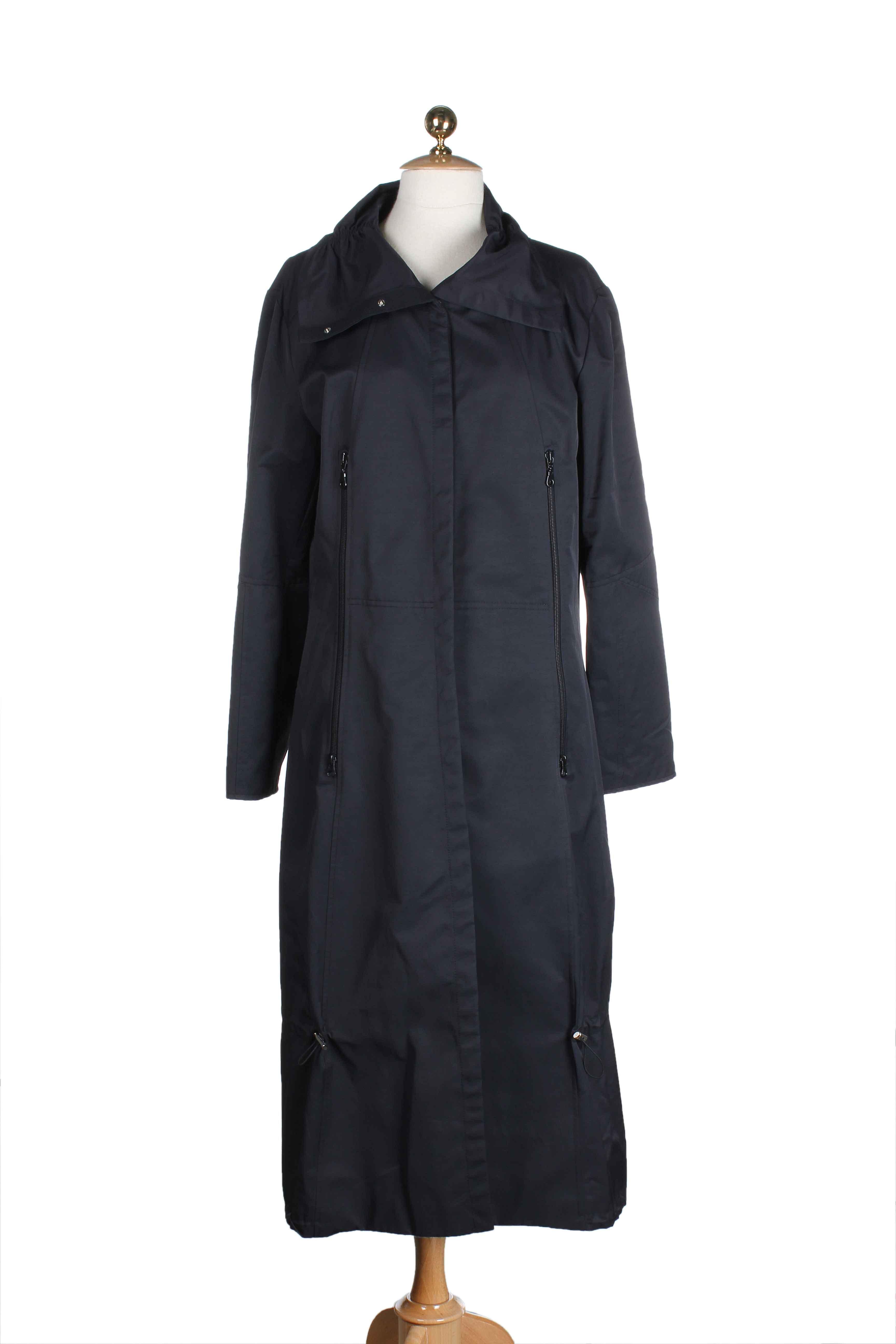 En Pas De Manteaux Couleur Collection Noir00 213895 Longs Motys Modz Noir Soldes Cher fybv76gY