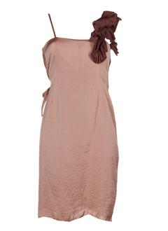 Robe mi-longue vieux rose HOSS pour femme