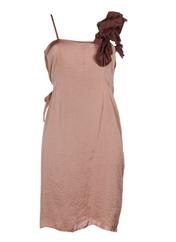 Robe mi-longue vieux rose HOSS pour femme seconde vue