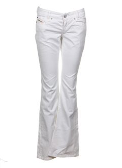 diesel jeans fille de couleur blanc