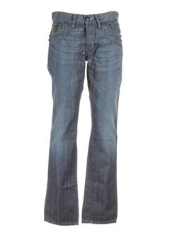 stone aged jeans homme de couleur bleu fonce