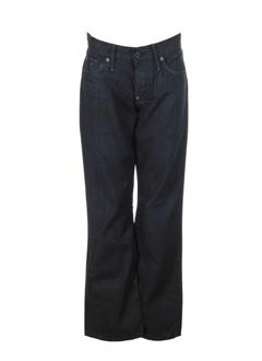g star jeans homme de couleur bleu fonce