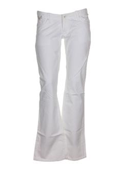 kaporal jeans femme de couleur blanc