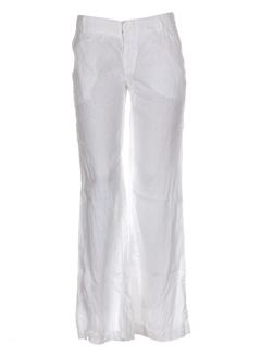 guess pantalons femme de couleur blanc