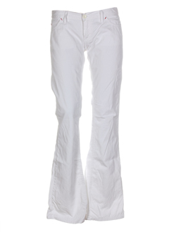 meltin'pot jeans femme de couleur blanc