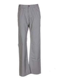 teddy smith pantalons homme de couleur gris perle