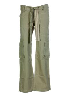 chipie pantalons femme de couleur kaki