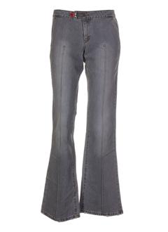 cimarron jeans femme de couleur gris