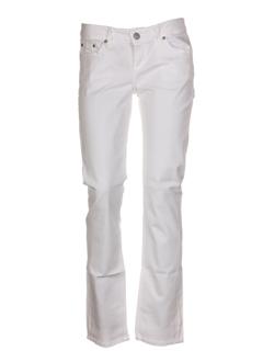 ltb jeans femme de couleur blanc