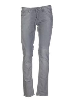 le temps des cerises jeans femme de couleur gris perle