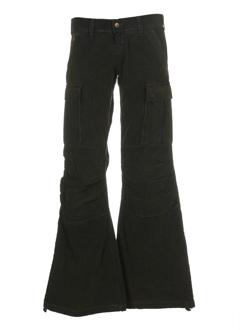 cimarron pantalons femme de couleur kaki