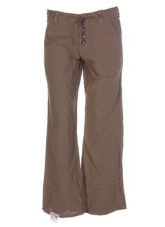 Pantalon chic beige 55 DSL pour femme