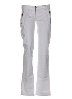 Pantalon casual blanc ALCOTT pour femme