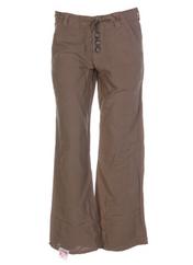 Pantalon chic beige 55 DSL pour femme seconde vue