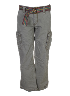 scotch EFFI_CHAR_1 soda pantalons garçon de couleur kaki