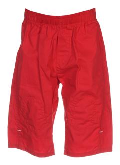 ikks pantalons garçon de couleur rouge
