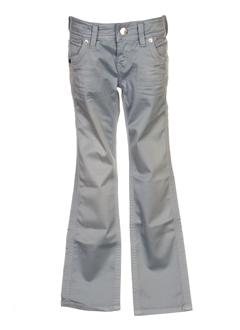 pepe jeans pantalons fille de couleur bleu ciel
