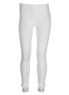 molly bracken pantalons femme de couleur ecru