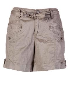 ddp shorts / bermudas femme de couleur taupe