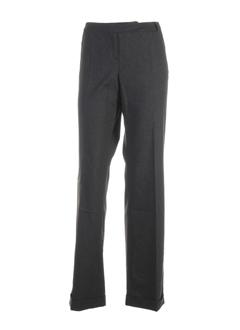 helena sorel pantalons femme de couleur anthracite