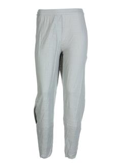 cannisse pantalons femme de couleur gris perle